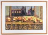 "<h5>""Pears #2"" by Cornelia Draves Baker (N/D)</h5><p>Approx. 18""x24""; Aquatint BMAS 1121</p>"