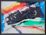 "<h5>""Puerto Vallarta"" by Bernice Leibowitz (N/D)</h5><p>Approx. 48""x61""; Acrylic on canvas BMAS 1197</p>"