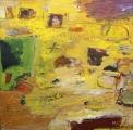"<h5>En Las Tardes</h5><p>48""x48""  Acrylic (mixed media) on canvas </p>"
